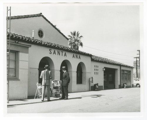 Atchison, Topeka & Santa Fe Railway Company depot, Santa Ana,California - Page