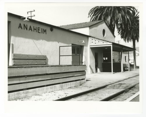 Atchison, Topeka and Santa Fe Railway Company depot, Anaheim, California - Page