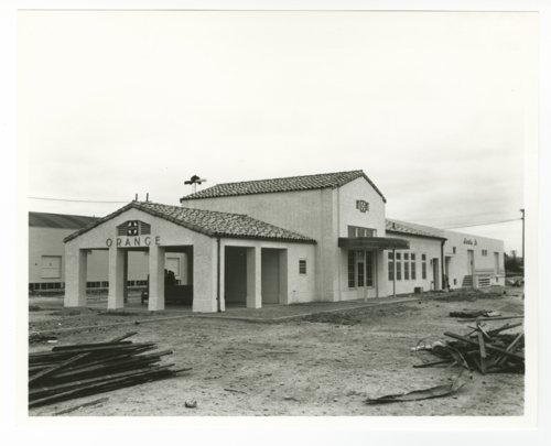 Atchison, Topeka & Santa Fe Railway Company depot, Orange, California - Page