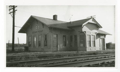 Atchison, Topeka and Santa Fe Railway Company depot, Cedar Point, Kansas - Page
