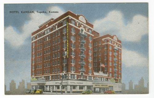 Hotel Kansan in Topeka, Kansas - Page
