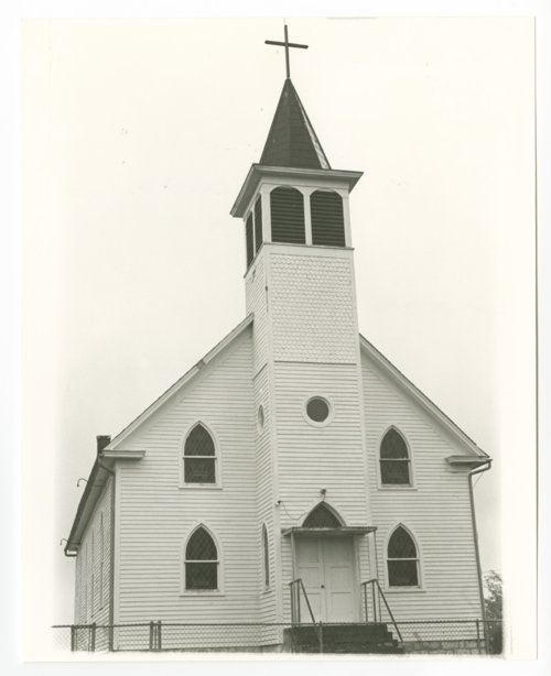 Catholic church in Big Springs, Kansas - Page