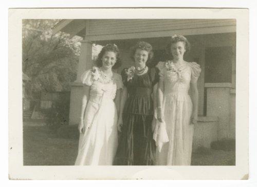 Elenore Marhenke, Norma Daniels and Maxine Elliott - Page