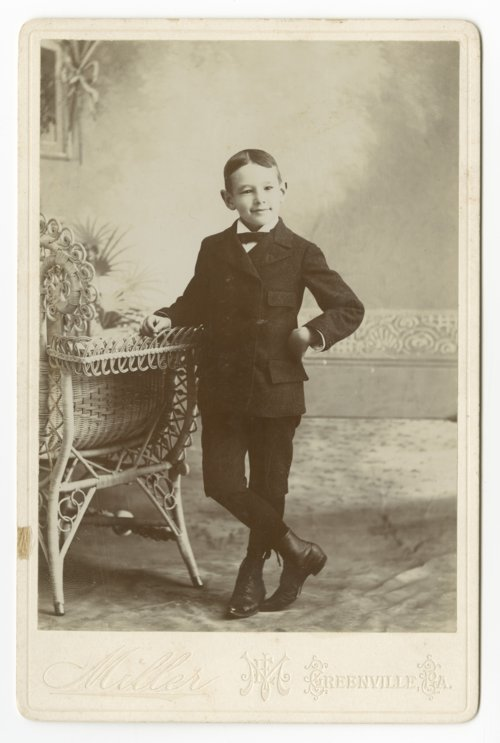 Alfred Mossman Landon as a young boy - Page