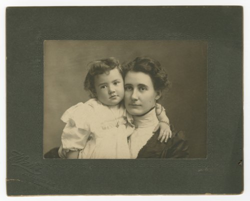 Josephine Cobb and Theo Cobb - Page