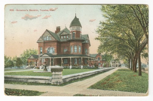 Kansas governor's mansion in Topeka, Kansas - Page