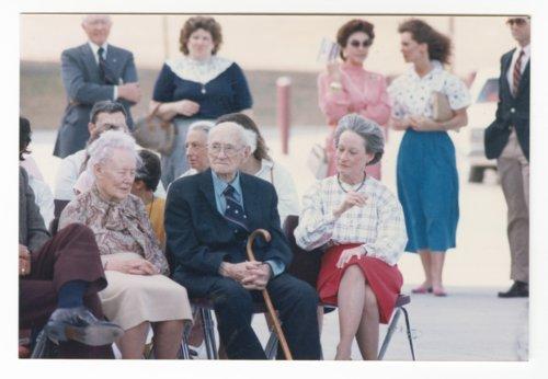 Theo Cobb Landon, Alfred Mossman Landon, and Nancy Landon Kassebaum - Page