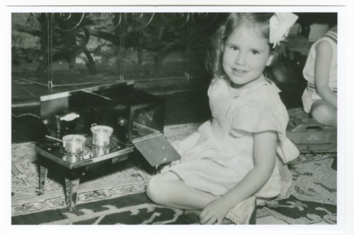 Nancy Landon Kassebaum Baker as a young girl - Page