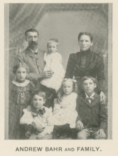 Andrew Bahr and family - Page