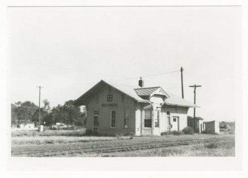 Atchison, Topeka & Santa  Fe Railway Company depot Belvidere, Kansas - Page