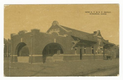 Atchison, Topeka & Santa Fe Railway Company depot, Kingman, Kansas - Page