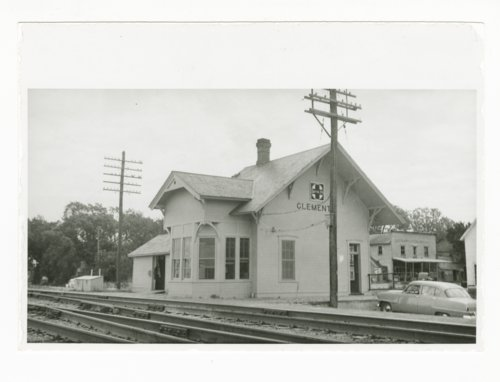 Atchison, Topeka & Santa Fe Railway Company depot, Clements, Kansas - Page