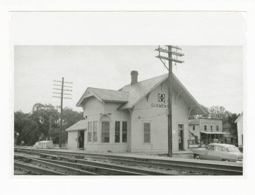 Atchison, Topeka and Santa Fe Railway Company depot, Clements, Kansas - Page