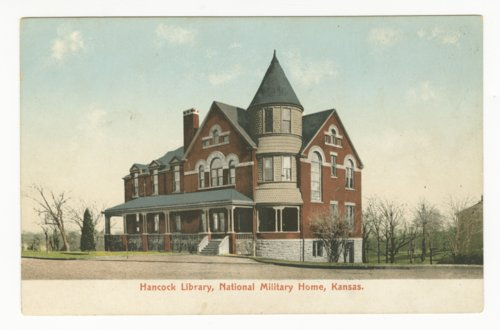 Hancock Library at the National Military Home in Leavenworth, Kansas - Page
