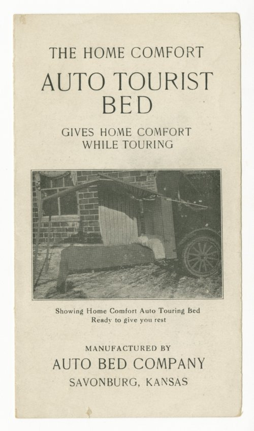 The Home Comfort Auto Tourist Bed - Page