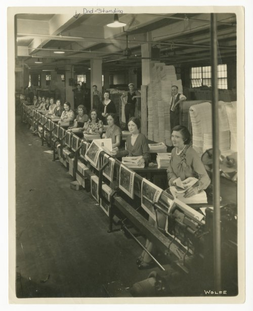 Women working at Capper Publications in Topeka, Kansas - Page