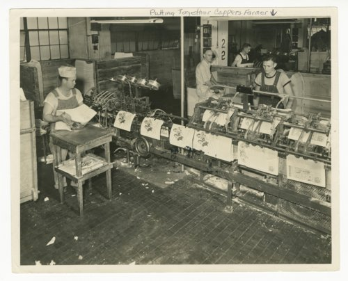 Capper Publications' bindery department in Topeka, Kansas - Page