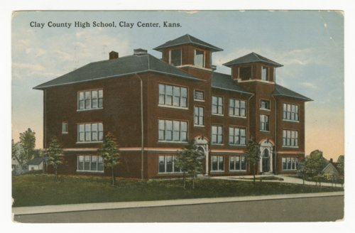 Clay County High School in Clay Center, Kansas - Page