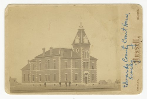 Edwards County courthouse in Kinsley, Kansas - Page