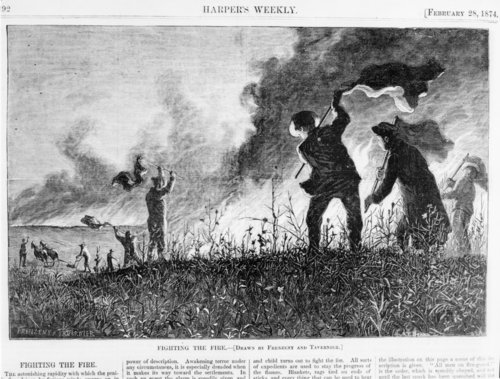 Fighting a prairie fire - Page
