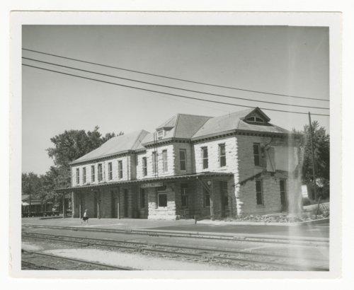 Atchison, Topeka & Santa Fe Railway Company depot, Wellington, Kansas - Page