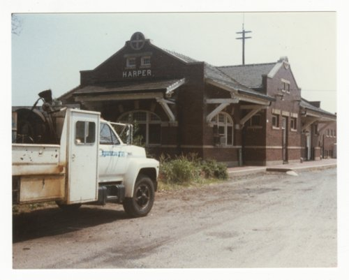 Atchison, Topeka & Santa Fe Railway Company depot, Harper, Kansas - Page