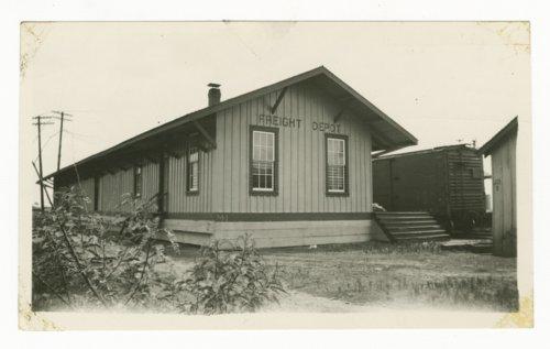 Atchison, Topeka & Santa Fe Railway Company's freight depot, Milano, Texas - Page