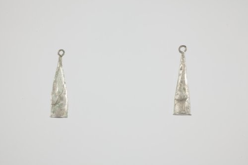 Silver Earrings from Fool Chief's Village - Page