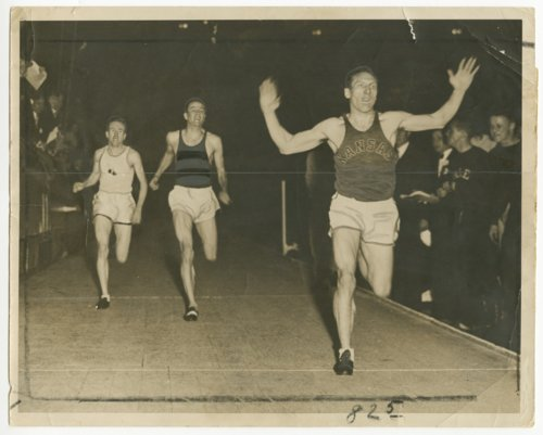 Glenn Cunningham winning the Columbian Mile at Madison Square Garden - Page