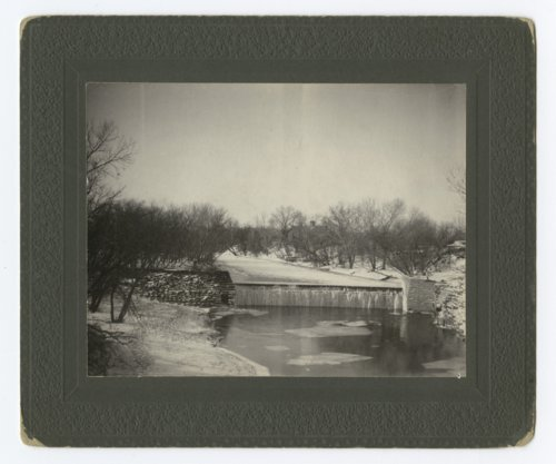 Dam on the Smoky Hill River in Lindsborg, Kansas - Page