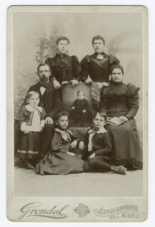 Swan Burk family members in McPherson County, Kansas - Page