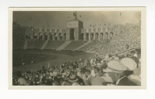 Coliseum at the Los Angeles 1932 Olympics - Page