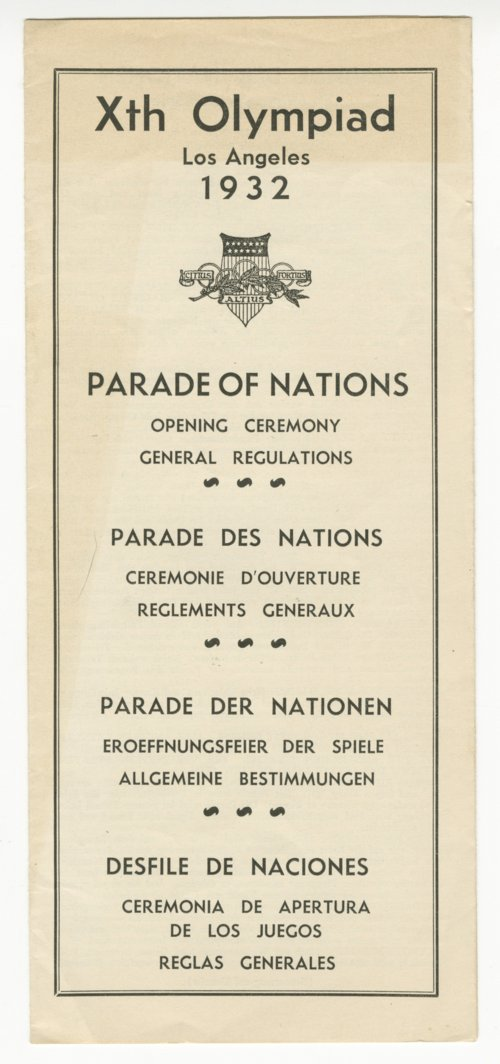 General regulations for the 10th Olympiad - Page