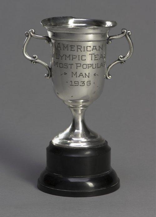 Glenn Cunningham's Olympic Trophy - Page