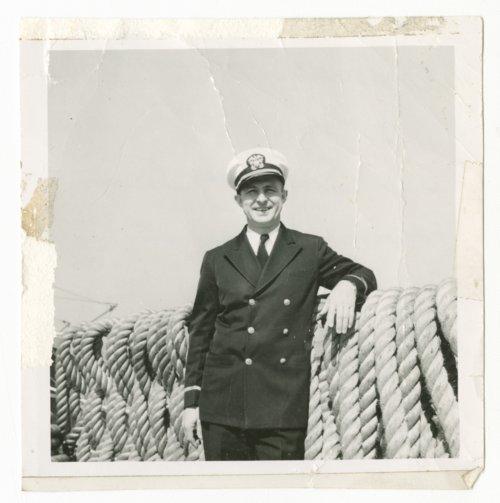 Sharitt Edward Baker on the U.S.S. Salisbury Sound - Page