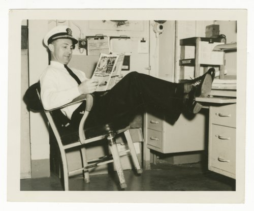 Sharitt Edward Baker on the U.S.S. Salisbury Sound - Page