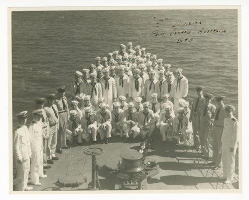 U.S. Navy E Division at Palm Island Australia - Page
