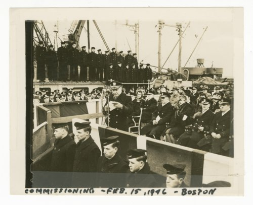 Commissioning of the U.S.S. Oregon City at Boston, Massachusetts - Page