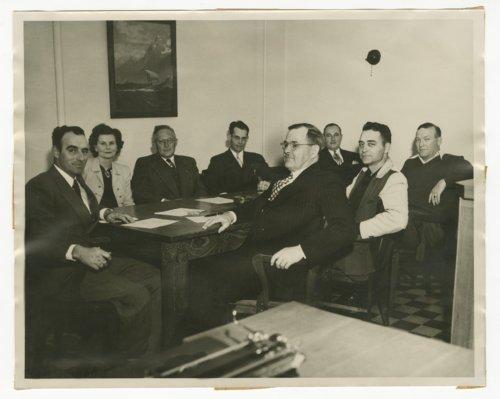 Members of the school board in Chanute, Kansas - Page