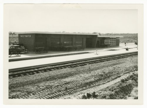 Atchison, Topeka & Santa Fe Railway Company depot, Sweetwater, Texas - Page