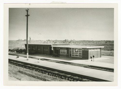 Atchison,Topeka & Santa Fe Railway Company depot, Sweetwater, Texas - Page