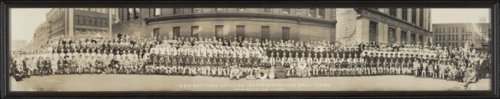 Security Benefit Association officers, representatives, band and drill teams in Grand Rapids, Michigan - Page