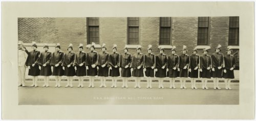 Security Benefit Association drill team No. 1 in Topeka, Kansas - Page