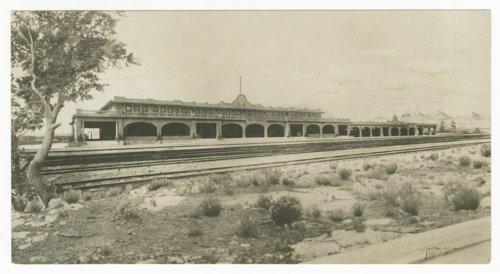 Atchison, Topeka & Santa Fe Railway Company's Fred Harvey Escalante Hotel, Ash Fork, Arizona - Page