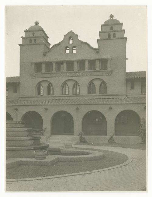 Atchison, Topeka and Santa Fe Railway Company's Fred Harvey Alvarado Hotel, Albuquerque, New Mexico - Page
