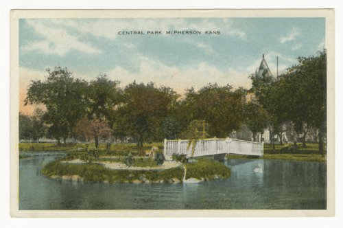 Central Park in McPherson, Kansas - Page