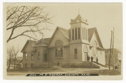 Methodist Episcopal Church in Augusta, Kansas - Page