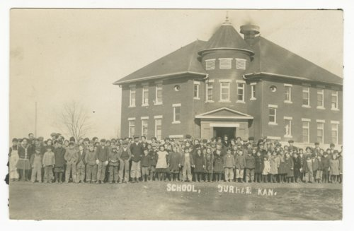 School in Durham, Kansas - Page