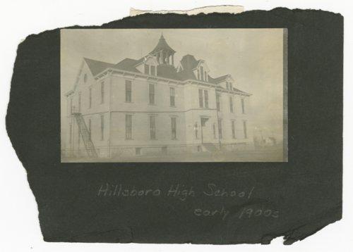 Hillsboro High School in Hillsboro, Kansas - Page