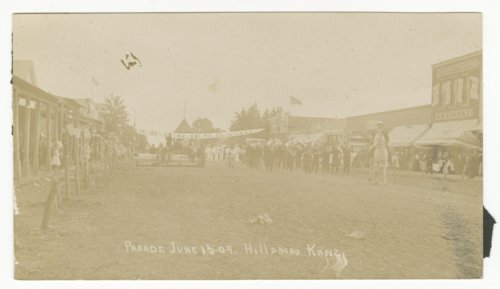 Parade in Hillsboro, Kansas - Page